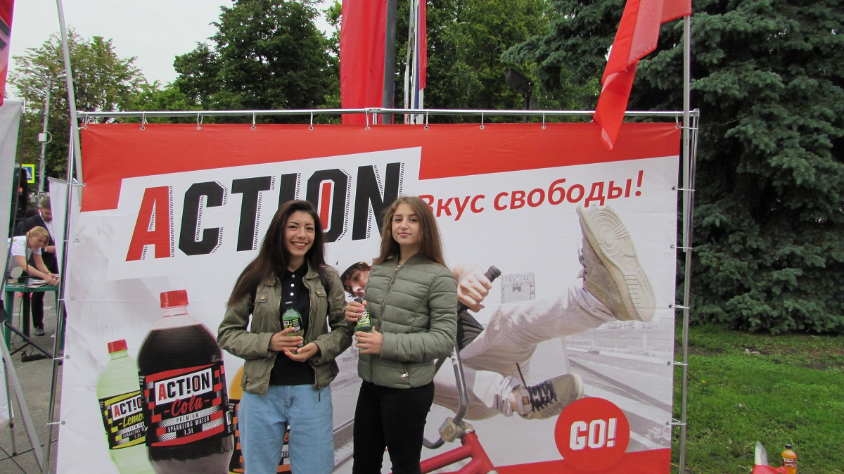ACTION на шоу «NO DRIFT — NO FUN»